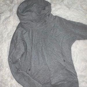 Lululemon heather grey hoodie pullover